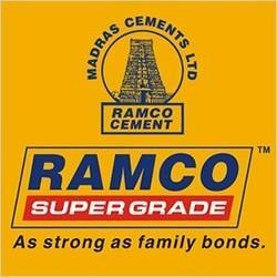 ramco cements listed in Indian stock market