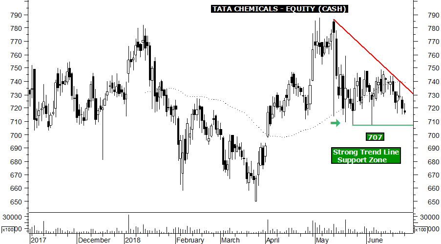 tata chemicals intraday tips